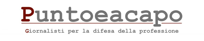 Puntoeacapo | Giornalisti per la difesa della professione
